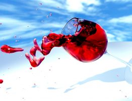 jak usunąć plamy z czerwonego wina